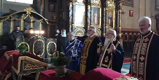 Помен патријаху Иринеју у Саборној цркви у Београду