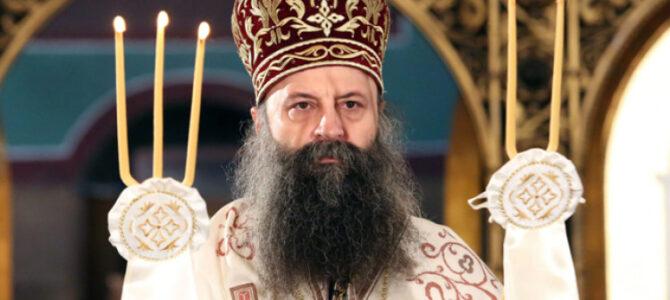 Патријарх српски Порфирије: Беседа у Недељу Православља