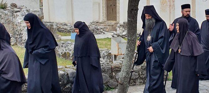 Патријарх српски г. Порфирије стигао у Пећку Патријаршију