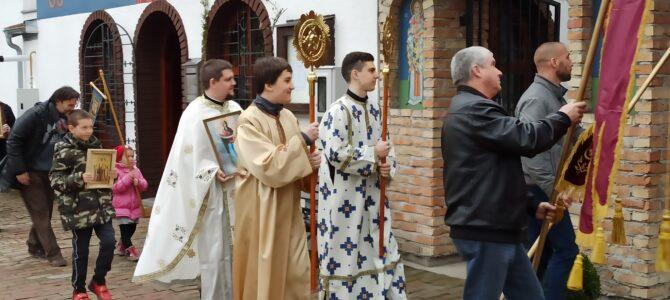 Недеља Православља у Покровском храму у Петроварадину