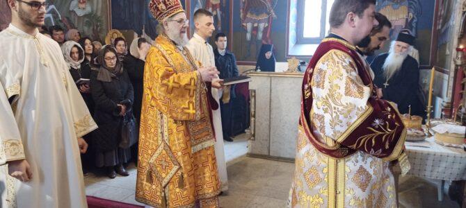 Света архијерејска Литургија и рукоположење у манастиру Велика Ремета