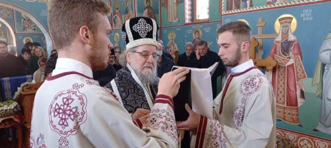 Исповест и причешће свештенства Архијерејског намесништва сремскокарловачког у Инђији