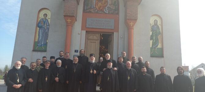 Исповест свештенства Архијерејског намесништва подунавског