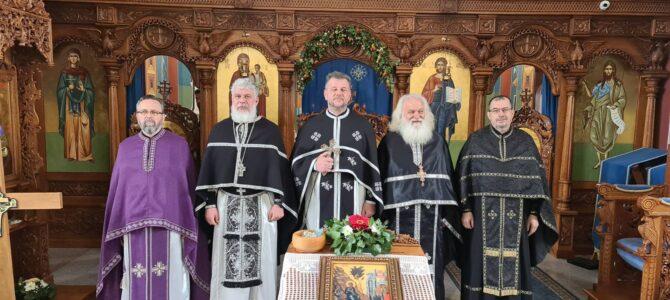 Света Литургија пређеосвећених дарова у Новој Пазови
