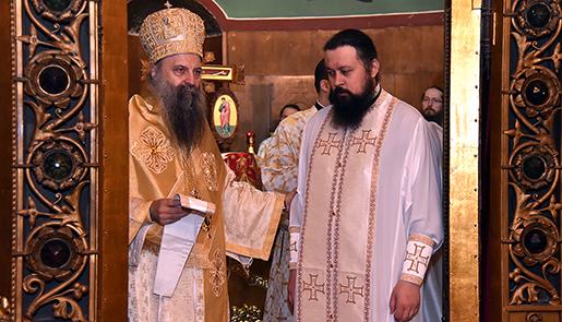 Патријарх рукоположио јерођакона Саву (Бундала) у чин јеромонаха