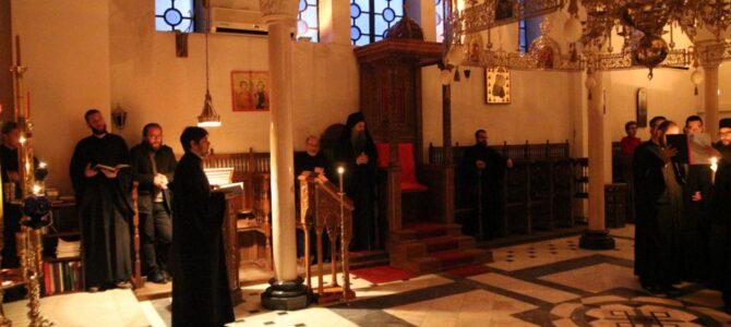 Патријарх Порфирије на богослужењу у параклису Богословског факултета