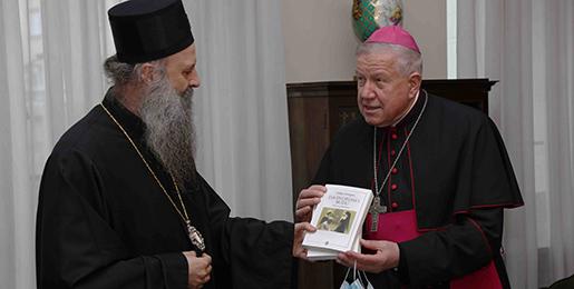 Патријарх српски примио Надбискупа београдског