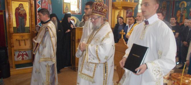 Архијерејском Литургијом у манастиру на Врањашу прослављен Свети Василије Острошки