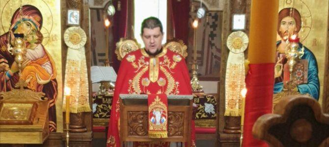 Недеља Мироносица у Покровском храму у Петроварадину