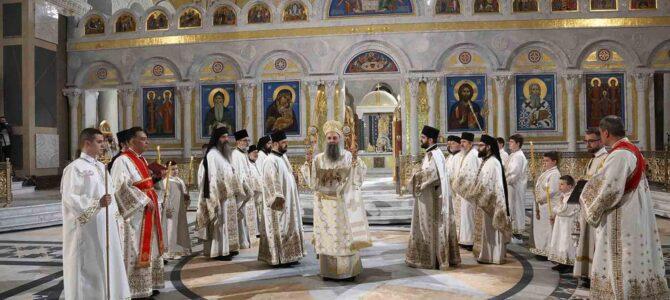 Патријарх Порфирије: Опростимо све онима који нас мрзе Васкрсењем Христовим