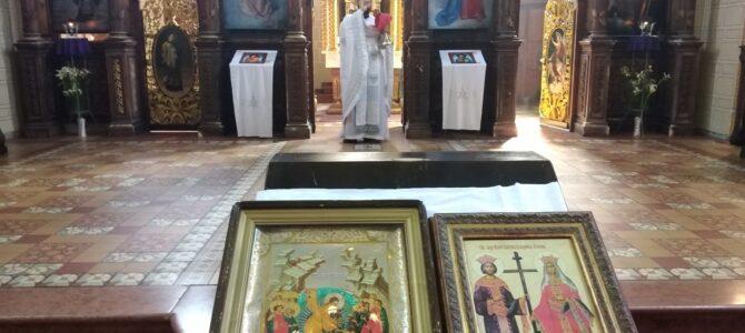 Свети Цар Константин и Царица Јелена молитвено прослављени у Саборном храму у Руми