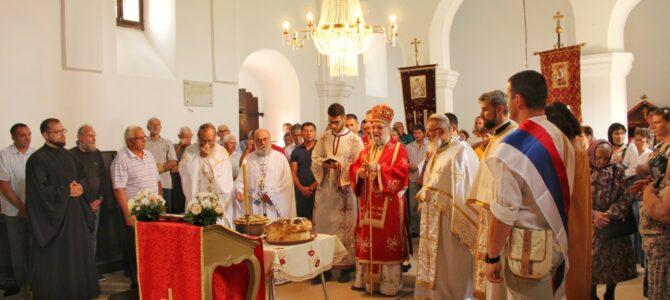 Прослављена храмовна слава у Нештину
