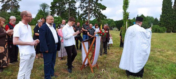 Парастос руским војницима на Војничком гробљу у Петроварадину