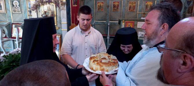 Света Литургија на имендан мати Февроније