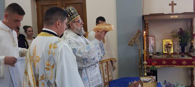 Владика Василије началствовао Светом архијерејском Литургијом у Босуту