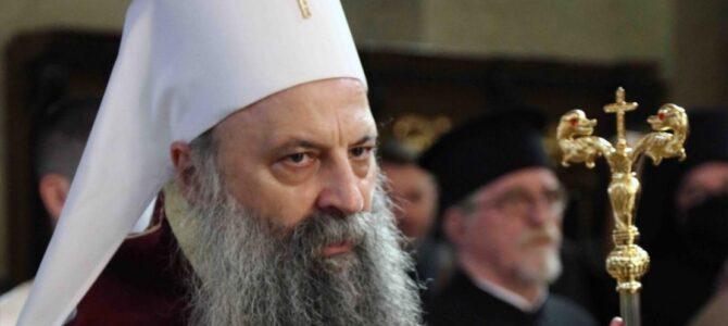 Најава: Патријарх српски г. Порфирије у посети Епархији шумадијској