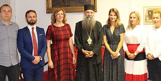 Патријарх примио делегацију Српског демократског форума