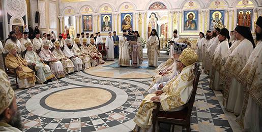Хиротонија Епископа топличког г. Јеротеја, викара Патријарха српског