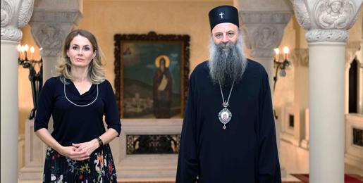 Патријарх српски примио Повереницу за заштиту равноправности