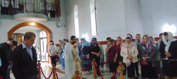 Празник Успења Пресвете Богородице у цркви Светог Јована Шангајског у Батајници