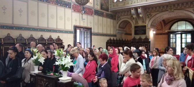 Велика Госпојина литургијски прослављена у Саборном храму у Руми