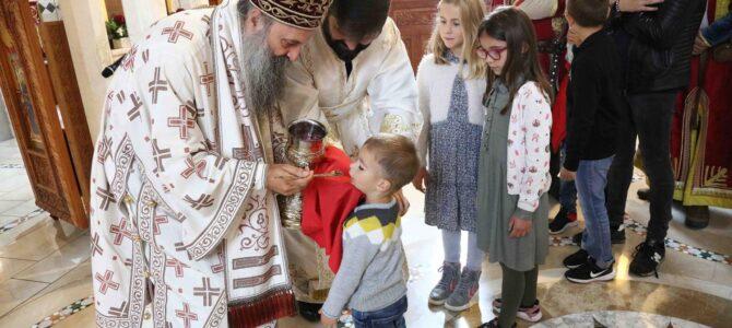 Патријарх Порфирије: Све што Црква чини темељи се на речима Христовим, на вери и молитви, на смирењу и љубави
