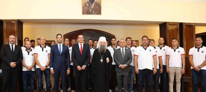 Патријарх Порфирије честита успех српским олимпијцима