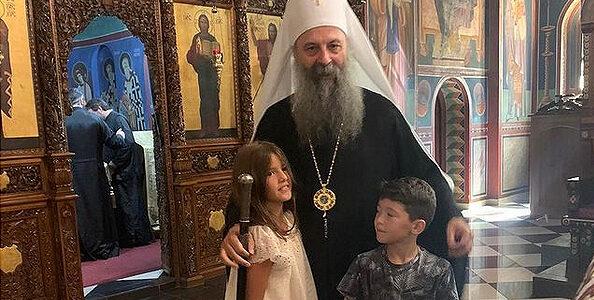 Патријарх Порфирије богослужио у Љубљани