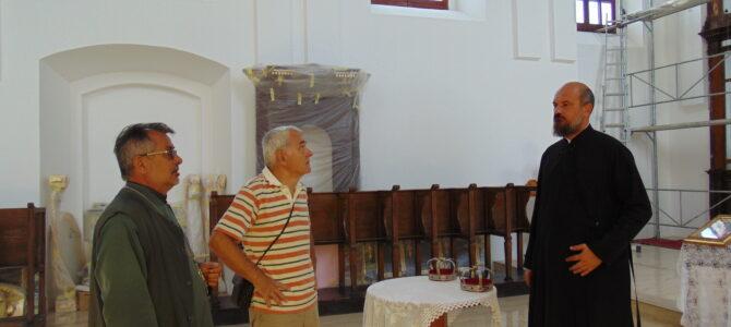 Др Томислав Бранковић у посети цркви Свете Петке у Бољевцима