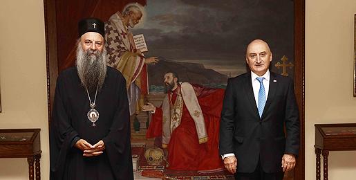 Патријарх српски примио Амбасадора Грузије у Србији
