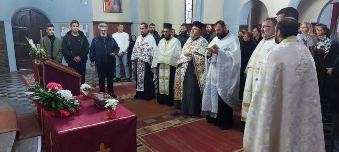 Боравак моштију Светог Нектарија Егинског у Кленку