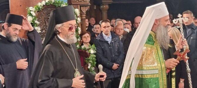Патријарх српски Порфирије у посети Епархији бањалучкој