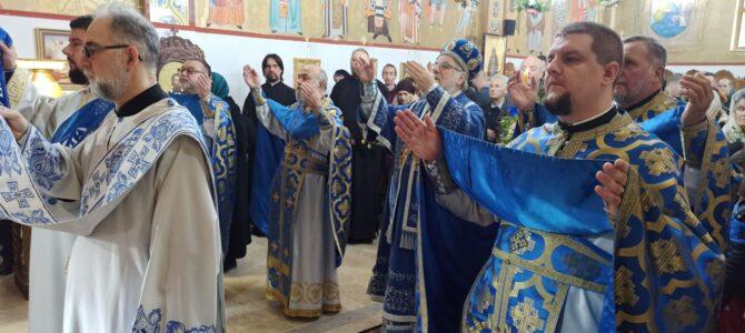 Света архијерејска Литургија у Покровском храму у Петроварадину